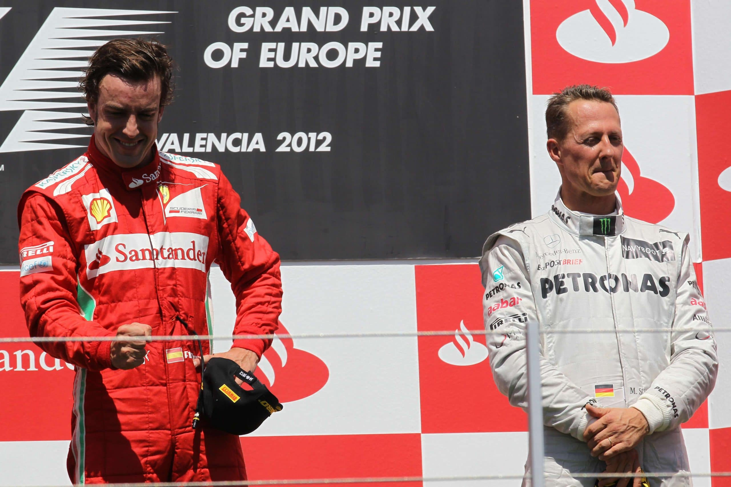 Pilotes F1 retraite retour