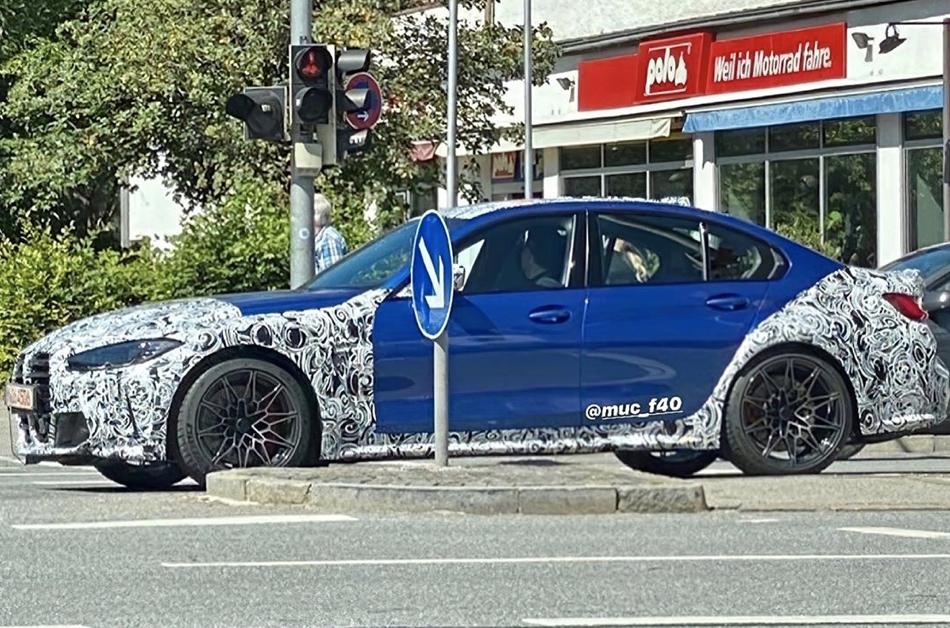 BMW M3 (2021) : la sportive allemande surprise dans les ...