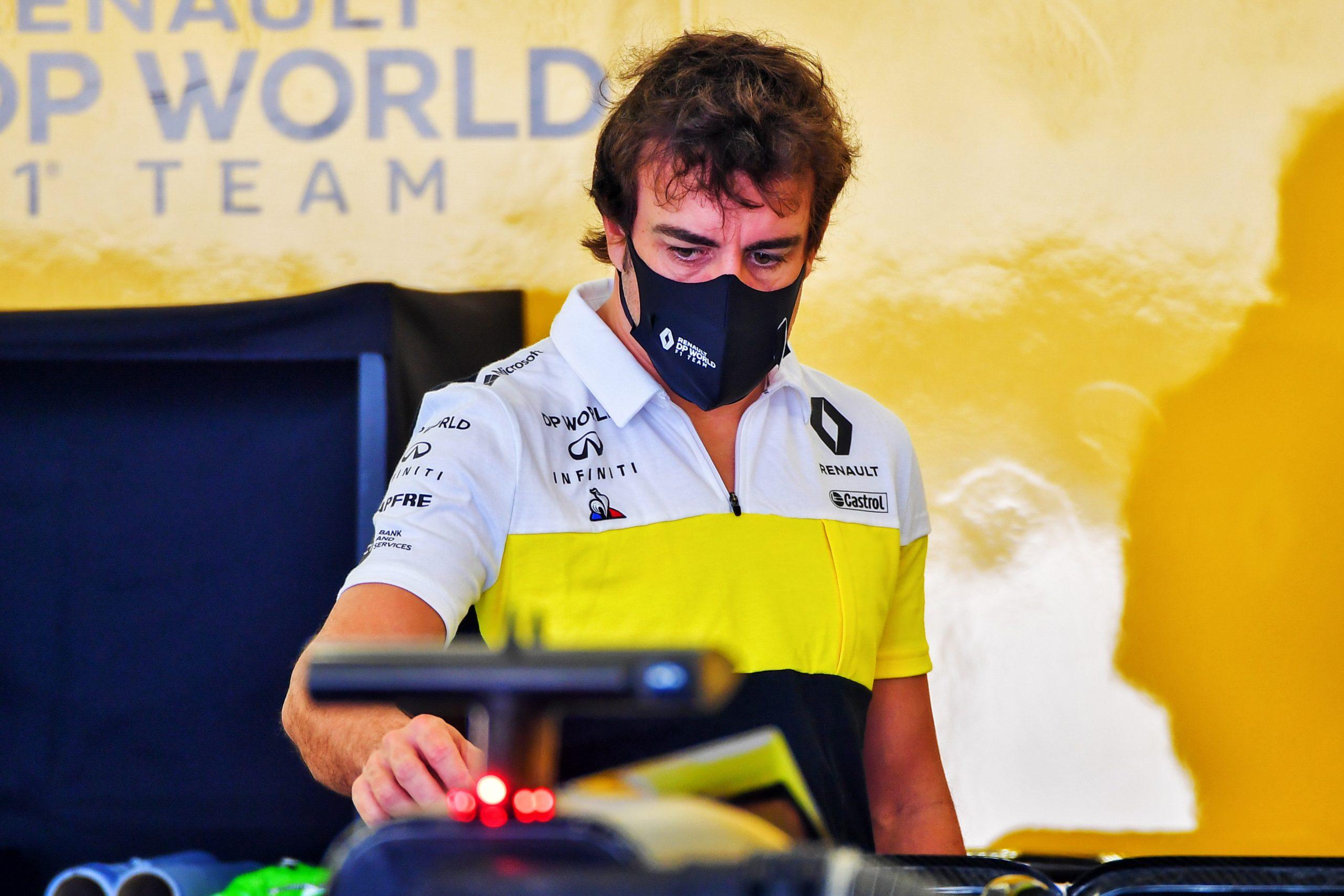 Renault Alonso Bahreïn